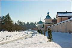 Восточная монастырская дорога ( 23 февраля 2013 г.)