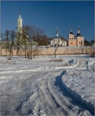 Извилистый путь (снимок сделан 26 января 2014 г.)