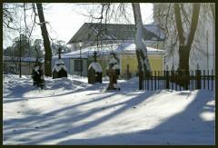 Тени на снежном порывале