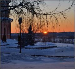 Романтика зимнего заката ( 25 января 2013 г.)