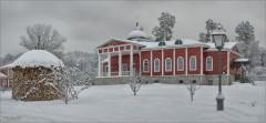 Зима в скиту (снимок сделан 3 января 2017 г.)