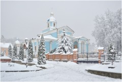 Первый снежный покров (31 октября 2012 г.)