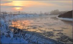 Таинство зимнего заката ( 9 декабря 2012 г.)