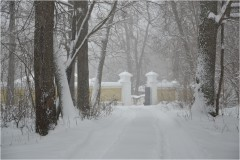 Скит в объятьях снега