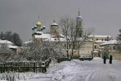 Монастырь в снегу или какой должна быть зима
