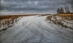 Первый снег ( Снимок сделан 1 декабря 2013 г.)