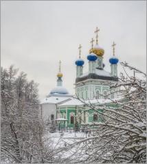 Пришла зима (снимок сделан 28 января 2015 г.)