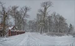 Поворот на зиму (снимок сделан 3 февраля 2015 г.)