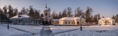 Скит зимой ( Снимок сделан 26 января 2014 г.)