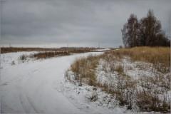 Поворот на зиму ( Снимок сделан 1 декабря 2013 г.)
