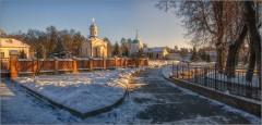 Золотой свет зимнего солнца ( Снимок сделан 26 января 2014 г.)
