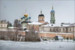 Серый зимний день ( Снимок сделан 5 января 2013 г.)