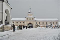 На Крещенский сочельник (снимок сделан 18 января 2013 г.)
