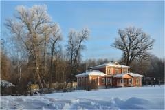 Скитской библиотечный корпус ( 15 января 2013 г.)