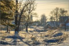 Зимний свет ( Снимок сделан 15 января 2013 г.)