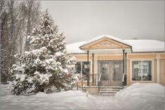 Вспоминая снежные года ( Снимок сделан 17 января 2013 г.)