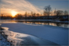 Тишина зимнего вечера (снимок сделан 27 декабря 2014 г.)