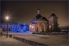 Ночные огни Рождественской ночи