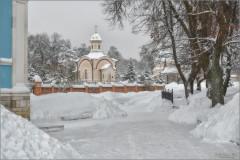 Под снежными заносами (снимок сделан 18 января 2013 г.)