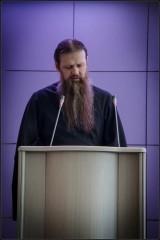 Выступление иерд. Платона, насельника Оптиной Пустыни ( 14 апреля 2013 г.)