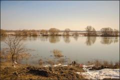 Разлив на Москва реке 2 ( 14 апреля 2013 г.)