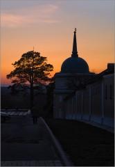 Теплый закат ( Снимок сделан 28 февраля 2014 г.)