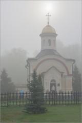 В объятиях тумана (снимок сделан 22 мая 2011 г.)