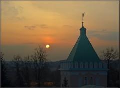 Закат на Светлой седмице ( 20 апреля 2012 г.)