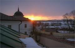 Весенний закат (снимок сделан 30 марта 2011 г.)