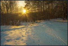 Весенний закат ( 10 марта 2013 г.)