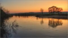 Оранжевый закат весны ( Снимок сделан 5 мая 2013 г.)