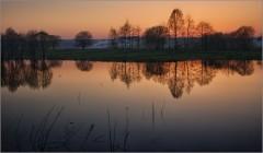 Теплый закат весны ( Снимок сделан 5 мая 2013 г.)
