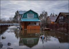 Потоп на дачных участках_3 ( Снимок сделан 21 апреля 2013 г.)