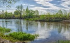 Весна на реке (снимок сделан 7 мая 2017 г.)