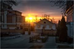 Вечер в первый день весны ( Снимок сделан 1 марта 2014 г.)