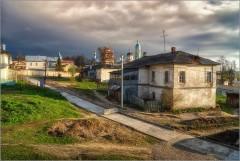 Бетонная дорога ( Снимок сделан 5 мая 2013 г.)