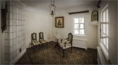 В одной из комнат скитского домика (снимок сделан 3 февраля 2015 г.)
