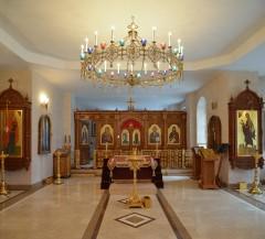 02_Храм преп. Марии Египетской. Подготовка к освящению плащаницы
