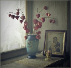 На окне в часовне ( 11 января 2013 г.)