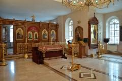 01_Храм преп. Марии Египетской. Подготовка к освящению плащаницы