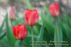 С праздником дорогие о Господе сестры Святых Жён мироносиц!
