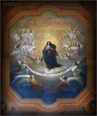 01_Роспись потолка в монастырской братской трапезной (снимок сделан 2 июля 2012 г.)