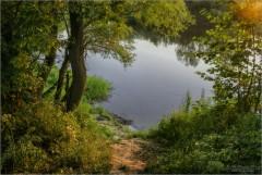 К реке (снимок сделан 31 июля 2009 г.)