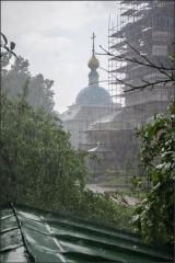 Июльский дождь ( Снимок сделан 14 июля 2013 г.)