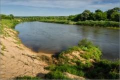 Речные просторы ( Снимок сделан 14 июня 2013 г.)