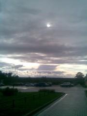 Небо над козельском.Вид с Оптины