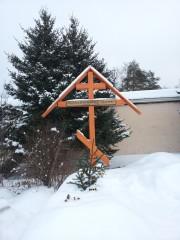 Рождественская ёлочка на могилке о.Порфирия