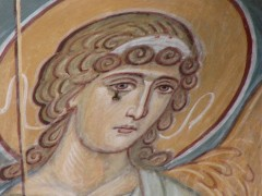 надвратная фреска скита