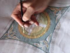 эскиз для росписи Преображенского храма