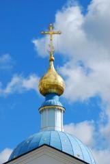 Купол храма  в честь Казанской иконы Божией Матери